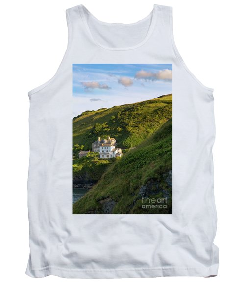 Tank Top featuring the photograph Port Isaac Homes by Brian Jannsen