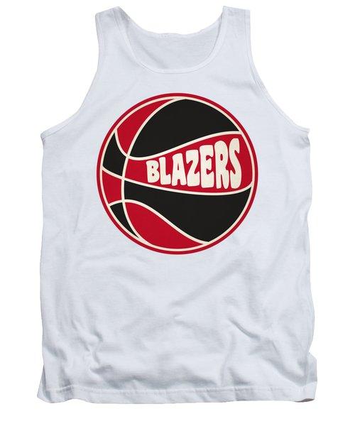 Portland Trail Blazers Retro Shirt Tank Top