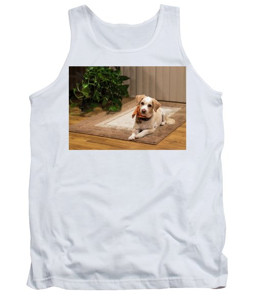 Portrait Of A Dog Tank Top