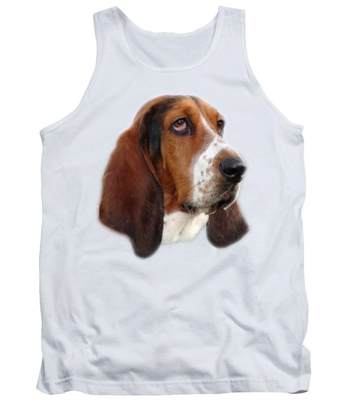 Tank Top featuring the photograph Portrait Of A Dog by George Atsametakis