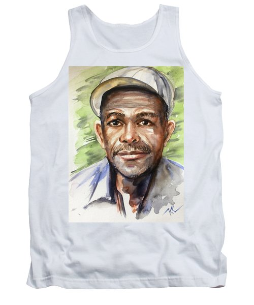 Portrait Of A Man Tank Top