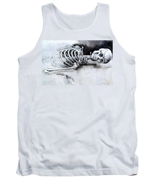 Portrait Of A Skeleton Tank Top