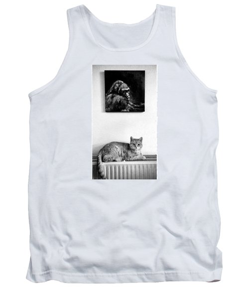 Portraitiere Mich. Jetzt.  #imhotep Tank Top
