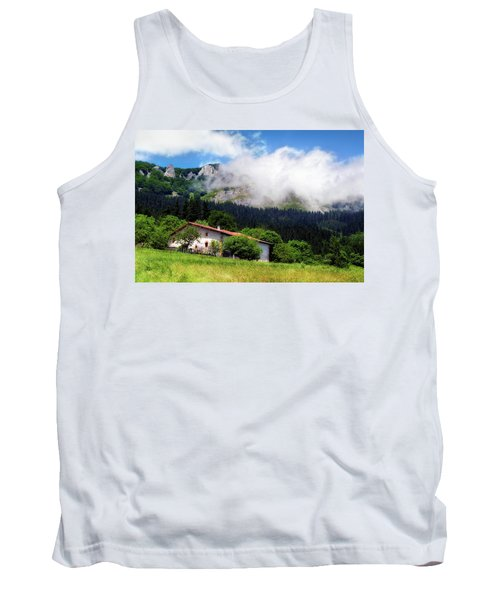 Postcard From Basque Country Tank Top