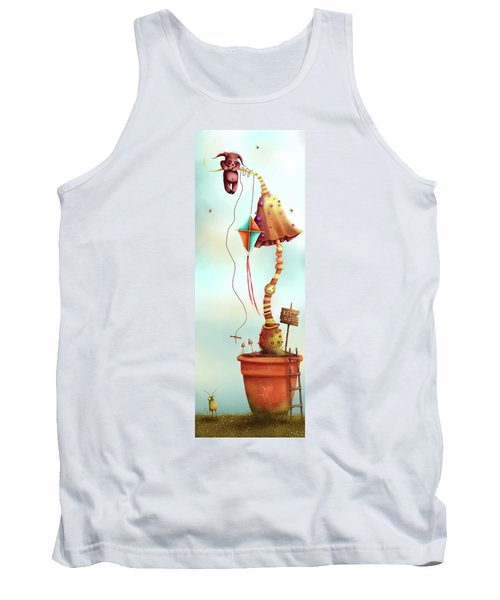 Trolls And Ladders.  Tank Top