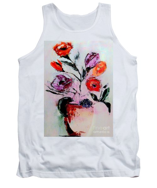 Pottery Plants Tank Top by Lisa Kaiser