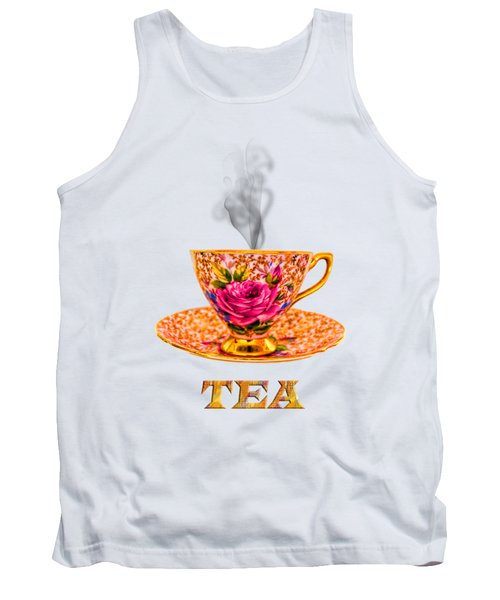 Potty About Tea Tank Top