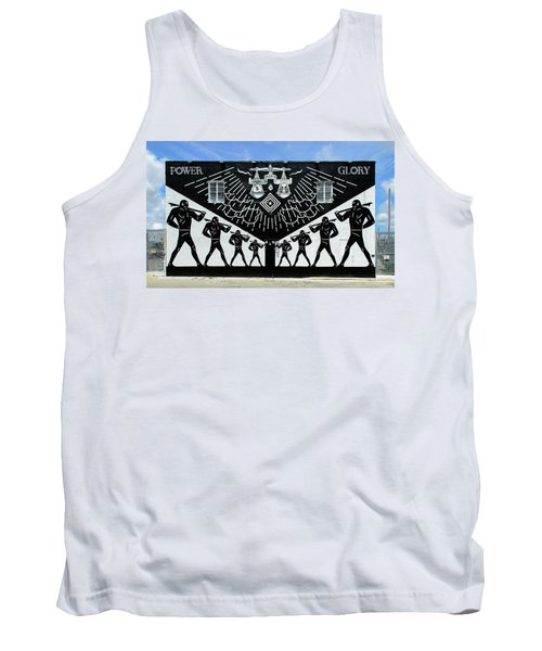 Power And Glory Tank Top by Keith Armstrong