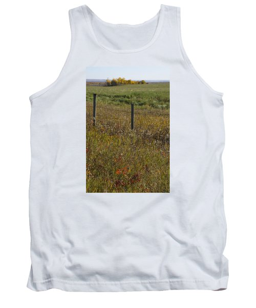 Prairie Autumn Tank Top by Ellery Russell