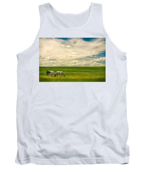 Prairie Horses Tank Top