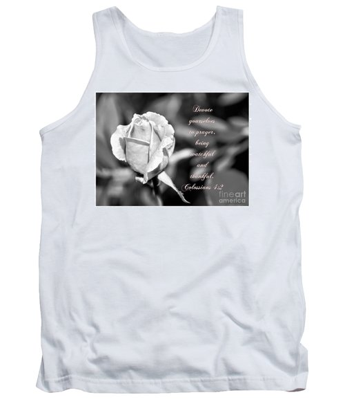 Tank Top featuring the photograph Prayer by Debby Pueschel