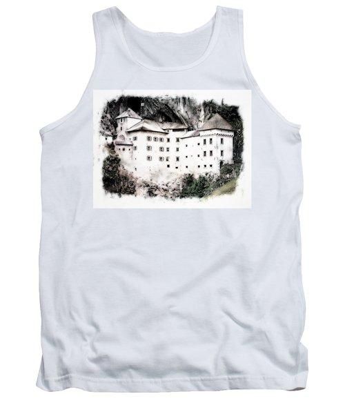 Tank Top featuring the photograph Predjama Castle by Joseph Hendrix