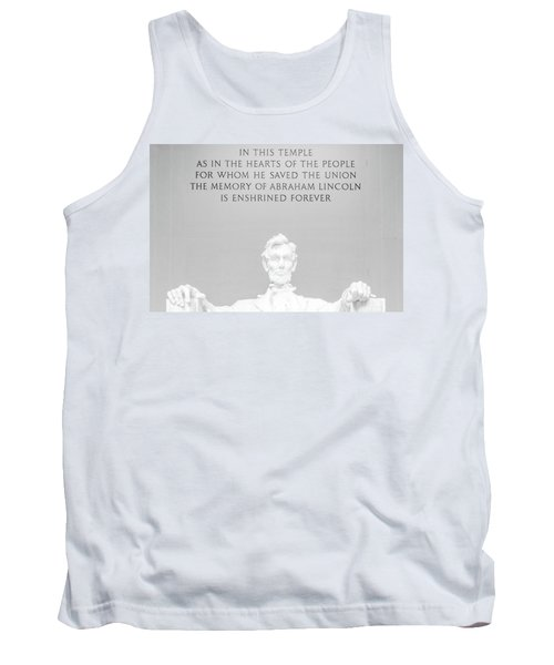 President Lincoln Tank Top