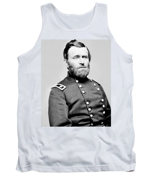 President Ulysses S Grant In Uniform Tank Top by International  Images