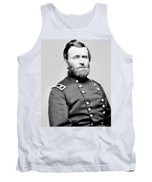 President Ulysses S Grant In Uniform Tank Top