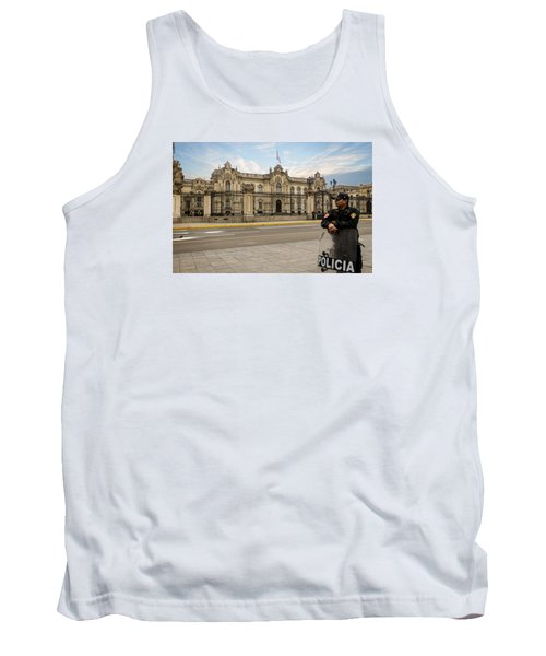 Presidential Palace In Lima Tank Top