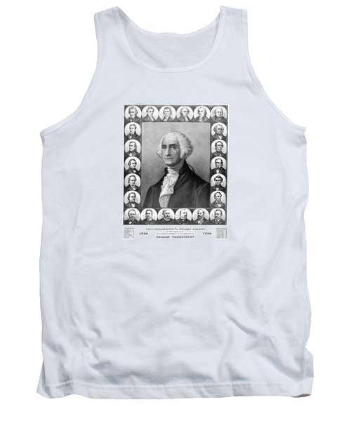 Presidents Of The United States 1789-1889 Tank Top