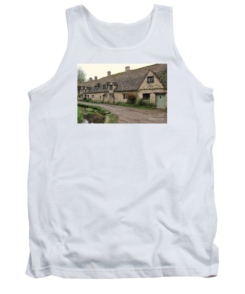 Pretty Cottages All In A Row Tank Top
