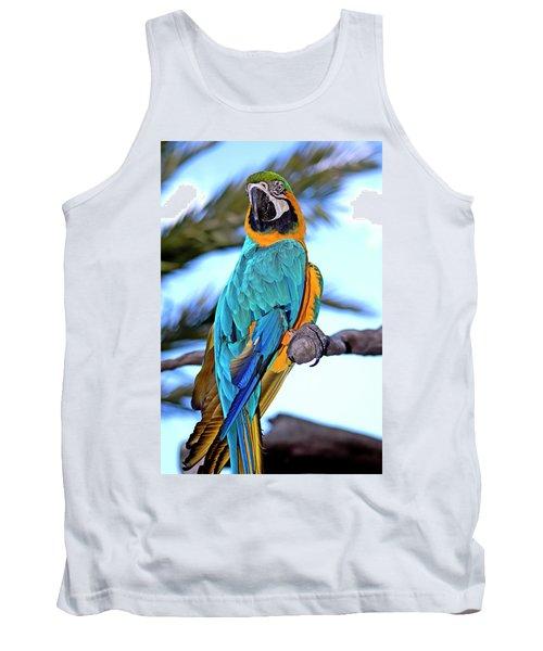 Pretty Parrot Tank Top