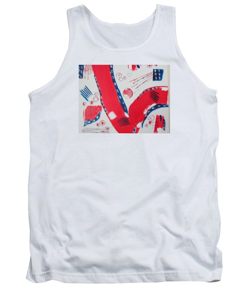 Pride - Glory - The Patriots Tank Top by Sharyn Winters