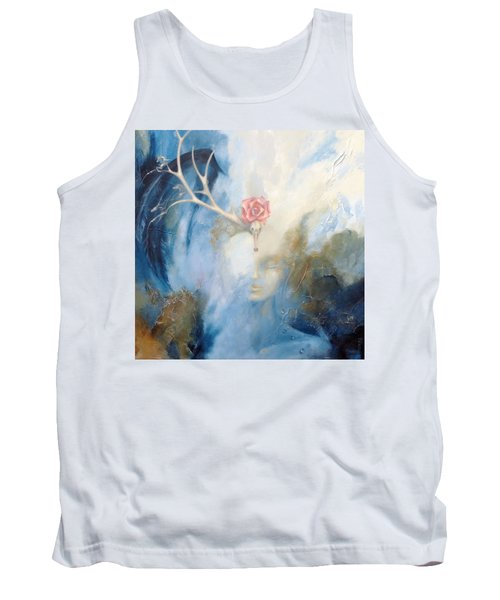 Tank Top featuring the painting Priestess by Dina Dargo