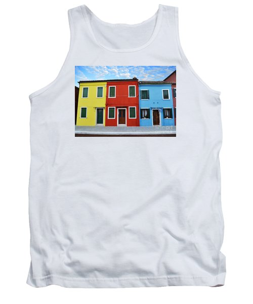 Primary Colors Too Burano Italy Tank Top