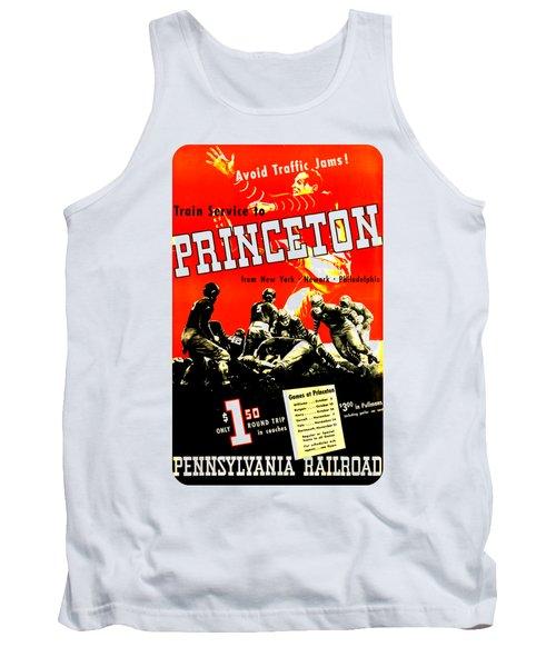 Princeton University Football 1936 Pennsylvania Railroad Tank Top