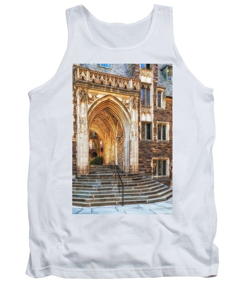 Tank Top featuring the photograph Princeton University Lockhart Hall Dorms by Susan Candelario
