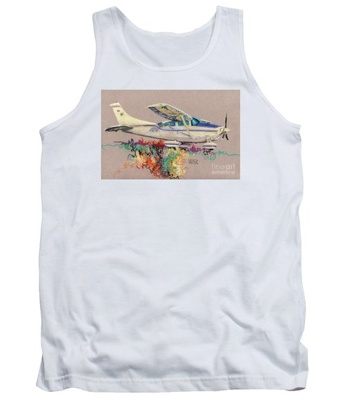 Private Plane Tank Top