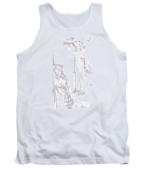 Procession Of Faith 2 Tank Top by Linda Shafer