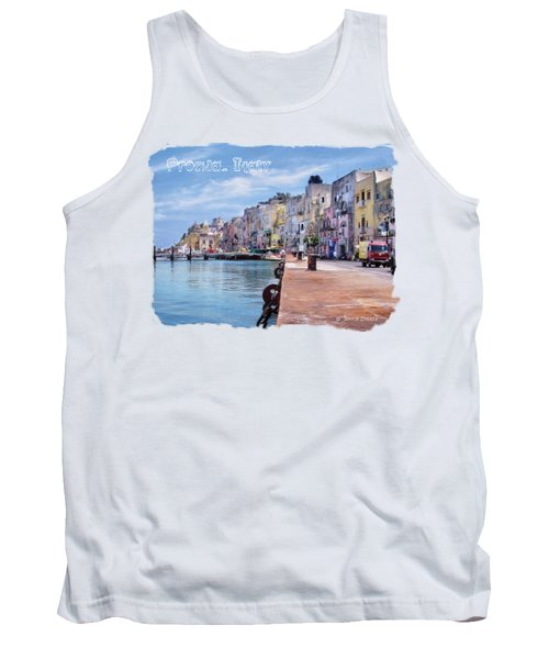 Procida Italy Tank Top by Jennie Breeze