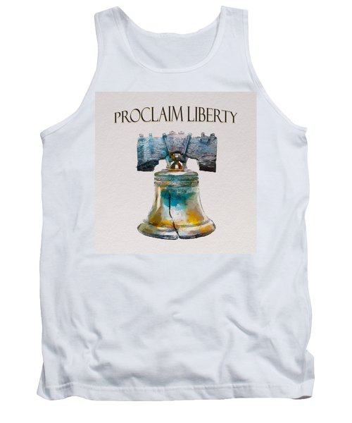 Proclaim Liberty Tank Top