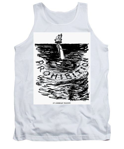 Prohibition Cartoon, 1920s - To License For Professional Use Visit Granger.com Tank Top