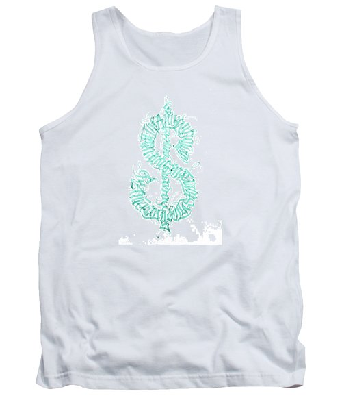 Prosperity. Calligraphy Abstract Tank Top