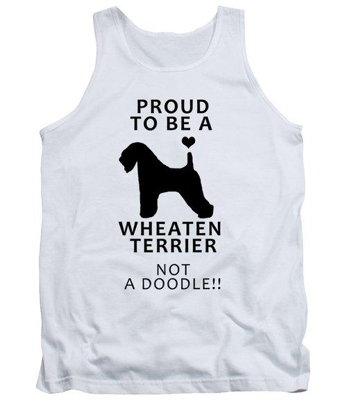 Proud To Be A Wheaten Tank Top
