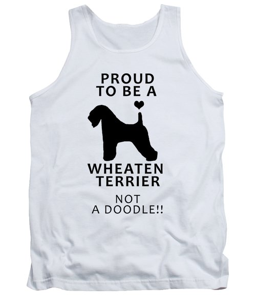 Proud To Be A Wheaten Tank Top