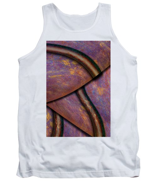 Tank Top featuring the photograph Psychedelic Pi by Paul Wear