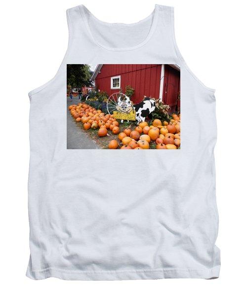 Pumpkin Farm Tank Top