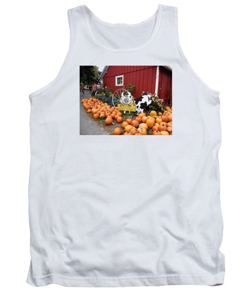 Pumpkin Farm Tank Top