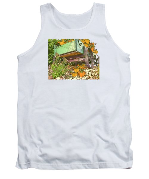 Pumpkin Harvest Tank Top