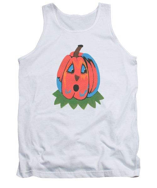 Pumpkin Tank Top by Kathleen Sartoris