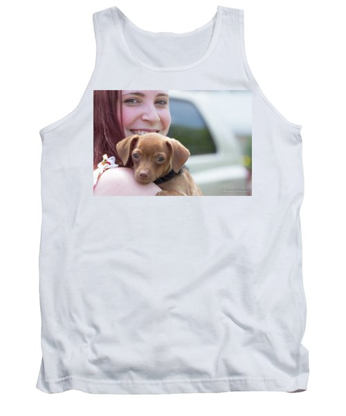 Puppy And Smiles Tank Top
