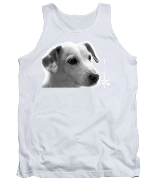 Puppy - Monochrome 4 Tank Top