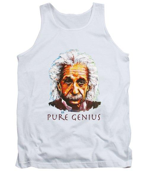 Pure Genius - Einstein Tank Top