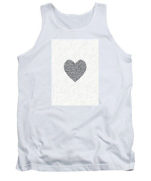 Tank Top featuring the digital art Pure Love by Linda Prewer