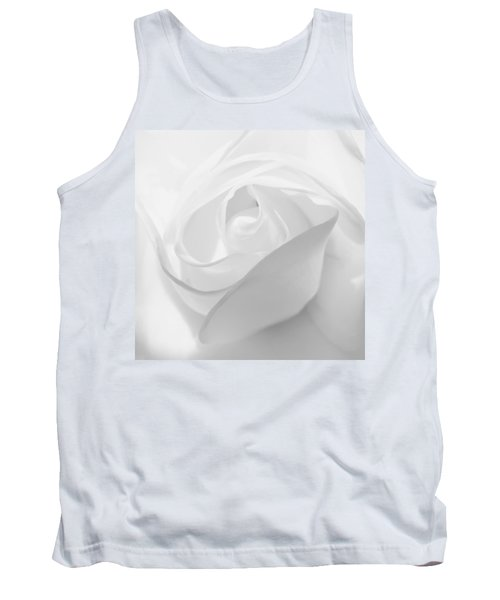 Purity - White Rose Tank Top