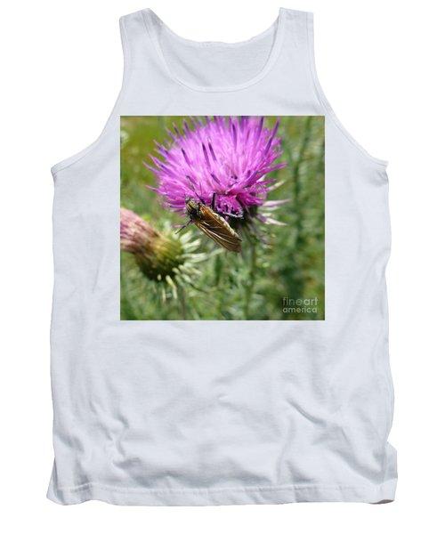 Purple Dandelions 1 Tank Top