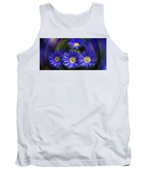 Purple In Nature Tank Top by Milena Ilieva