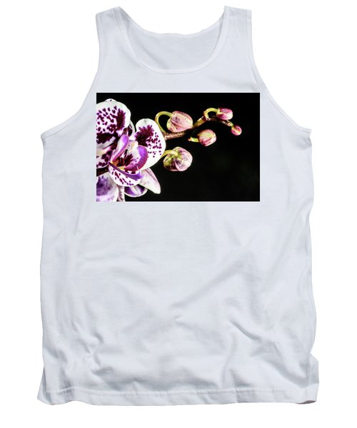 Purple Orchid Reaching Out Tank Top