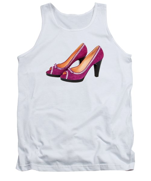 Purple Shoes Tank Top